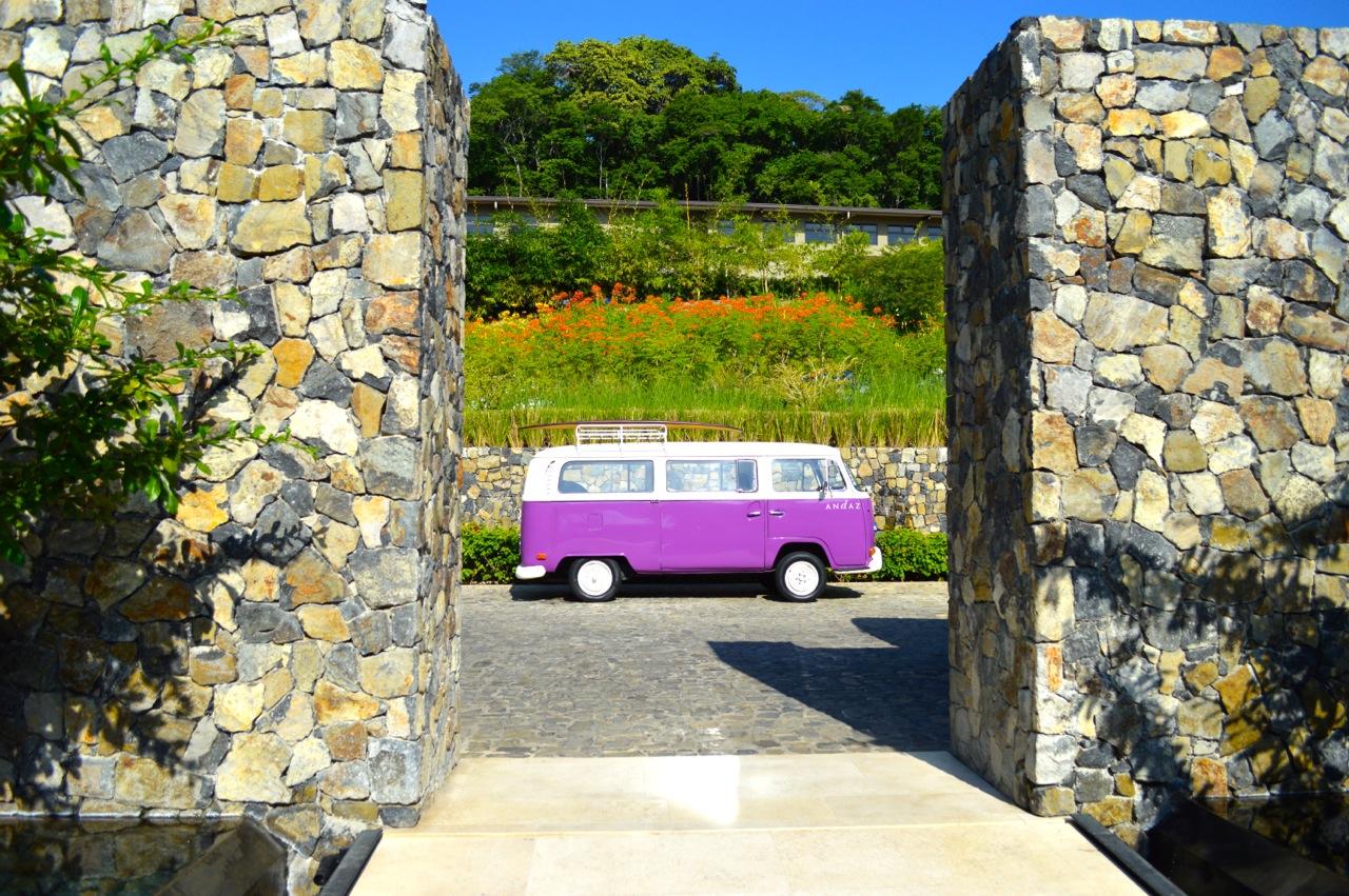 Andaz Resort Courtesy Van