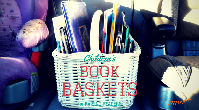 Children's Books Baskets
