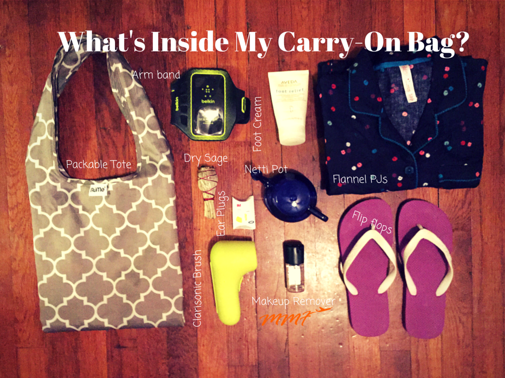 What's Inside My Carry On Bag
