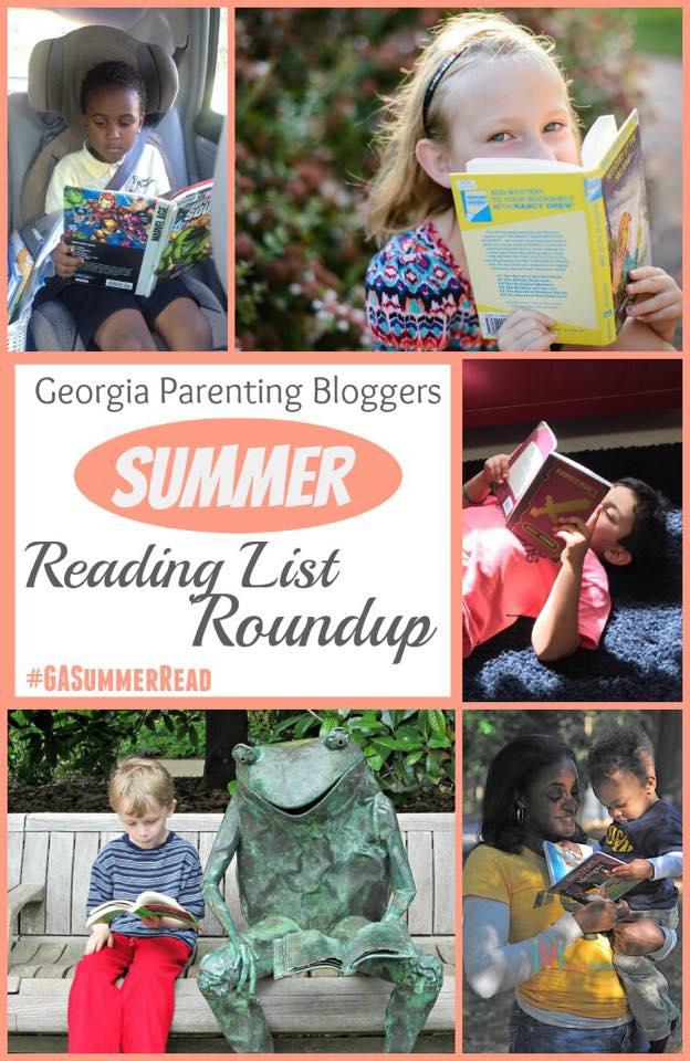 Georgia Parenting Bloggers Summer Reading List