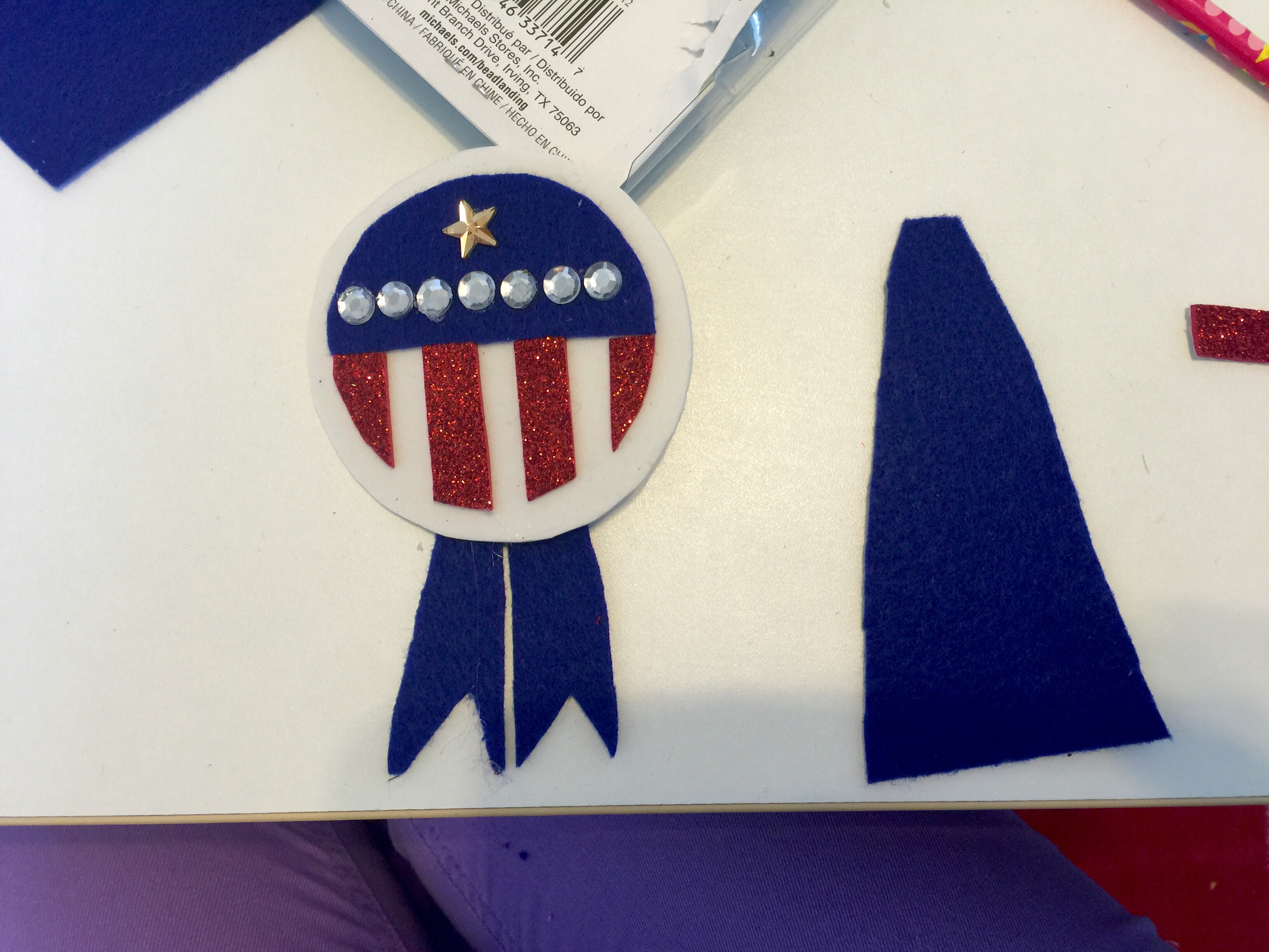 DIY Kayla the Great White House Pin