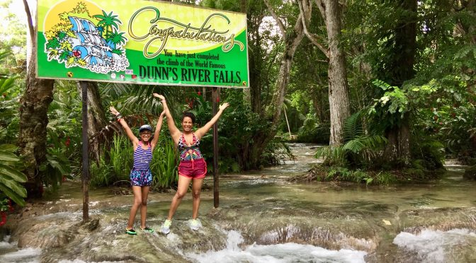 Jamaica Dunn's River Falls with Kids